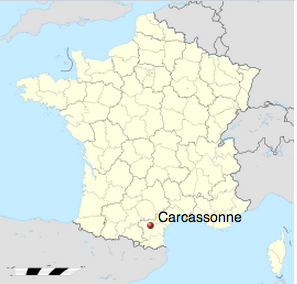 Carcassonne (Wikipedia Commons)