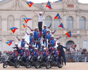 Gendarmerie Nationale Republican Guard Stunt Team