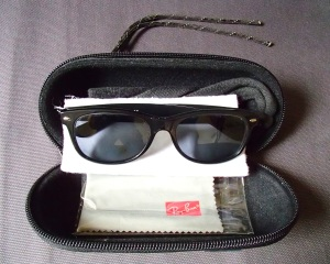 Ray Ban Prescription Original Wayfarers Sunglasses and Hazard 4 Sub-Pod Sunglasses Case