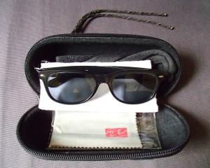 Ray Ban Prescription Original Wayfarers Sunglasses and Hazard 4 Sub-Pod Sunglasses Case