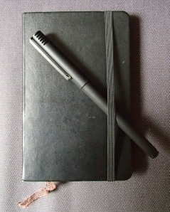 Moleskine Notebook and Pen