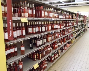 Shelves of Wines
