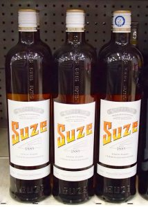 Bottles of Suze