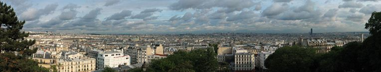 View of Paris from Sacré-Cœur Basilica (Wikimedia Commons)