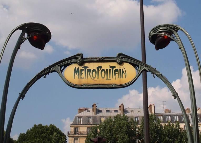 Métro de Paris (Subway) Sign