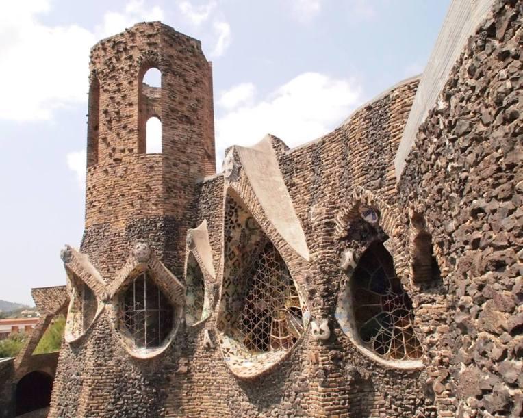 The Church of Colònia Güell (Catalan: Cripta de la Colònia Güell) is an unfinished work by Antoni Gaudí.