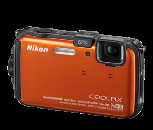 Nikon AW100 camera