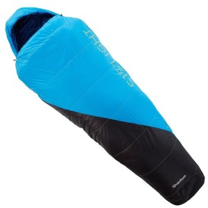 15° Light Hiking Sleeping Bag, Blue by Quechua