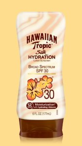 Silk Hydration Lotion Sunscreen by Hawaiian Tropic