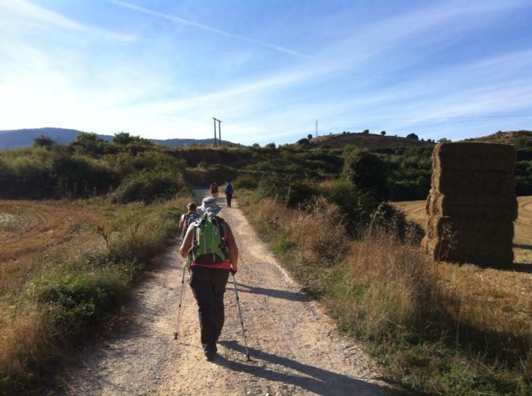 Trail to Azqueta