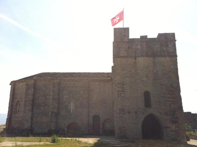 The Knights of Malta chapel in Cizur Menor
