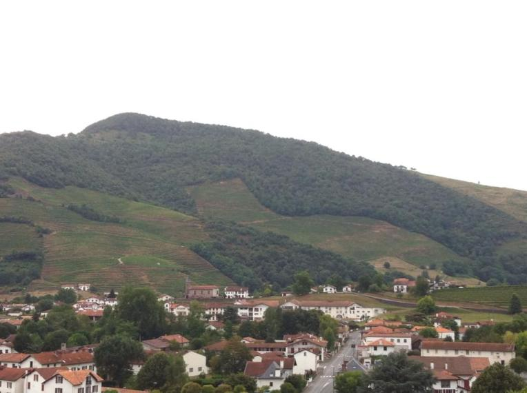The small city of Saint Jean Pied-du-Port, starting point for the Camino Frances.