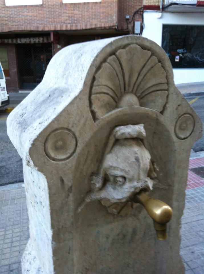 Pilgrim fountain, Burgos