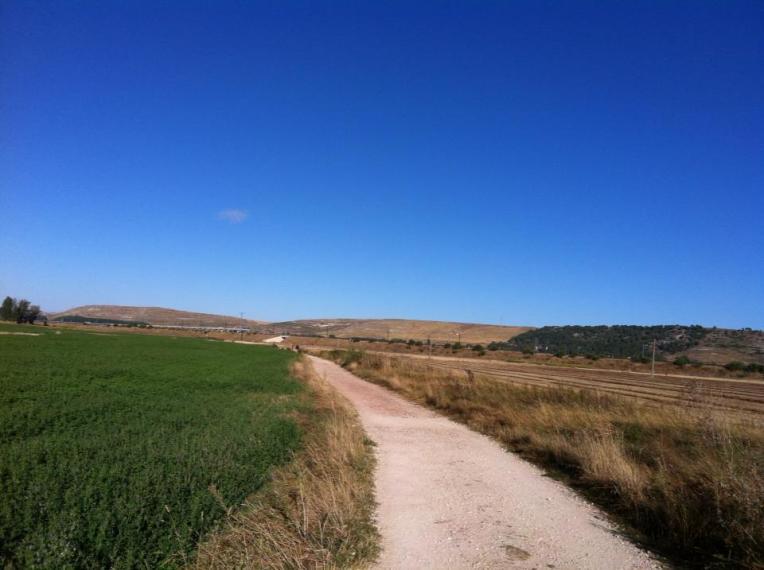 Trail near Camino Nuestra Senora de Pilar