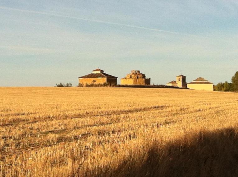 Boadilla del Camino from a distance