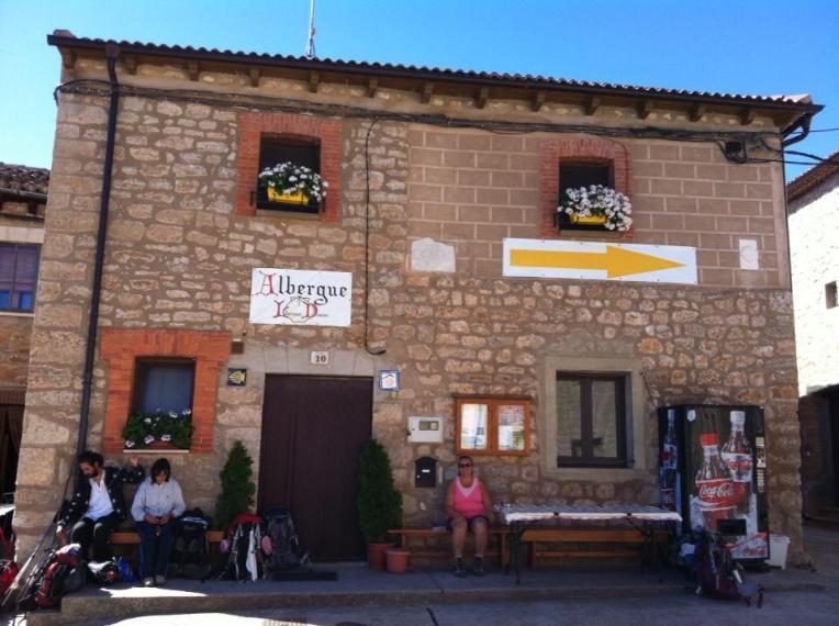 Our albergue in Rabe de las Calzados
