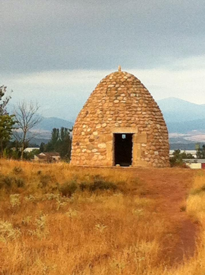 Beehive Hut dwelling outside of Najera