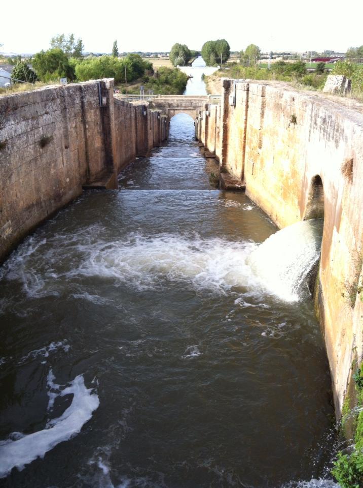 Eclusa (lock) near Fromista