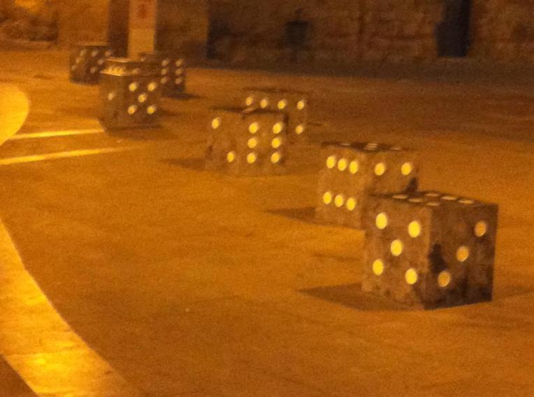 Dice seats in Logrono
