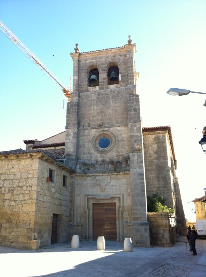 Iglesia Santa María Nuestra Senora Manzano, Our Lady of the Apple, 14th century, Castrojeriz