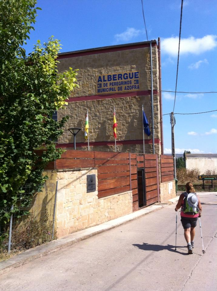 Our albergue in Azofra