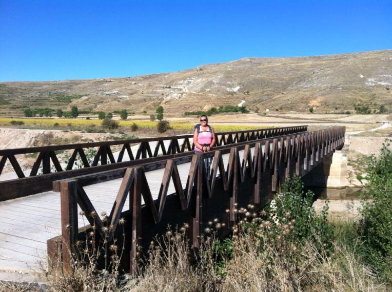 Bridge leaving Hontanas