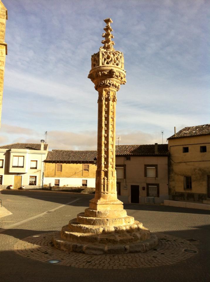 Columna Justicia, 15th century, Boadilla del Camino