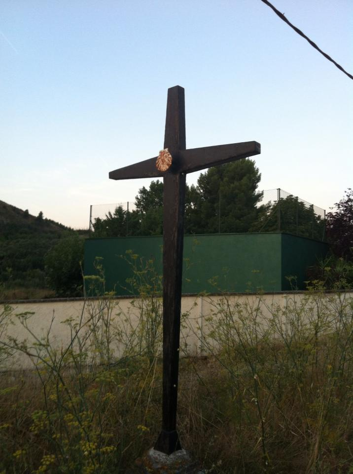 Crucifix near Maneru