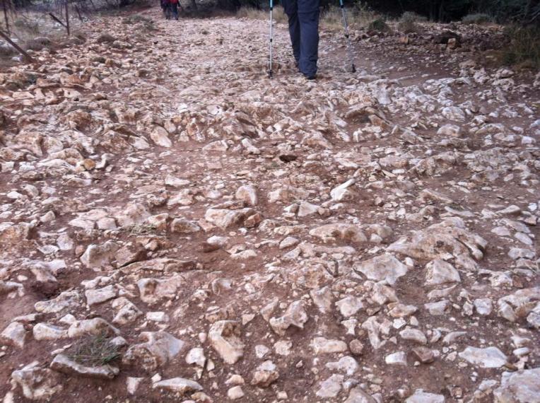 Trail over Sierra Atapuerca