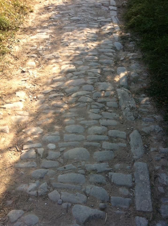 Roman road outside of Cirauqui