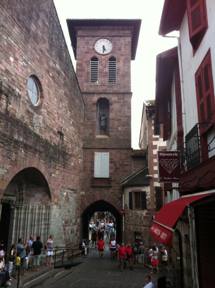 Like a fairy tale . . . historic district of Saint Jean Pied-du-Port.