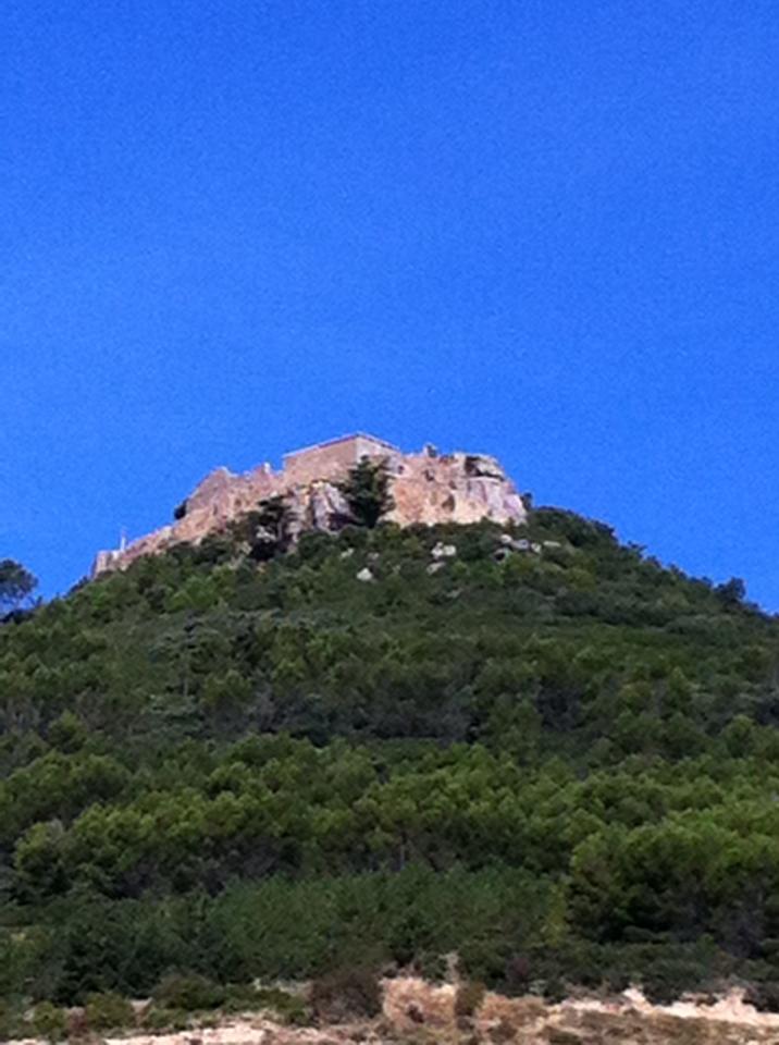 Ruins of Castillo de San Esteban (St. Steven's Castle), Villamayor de Monjardin
