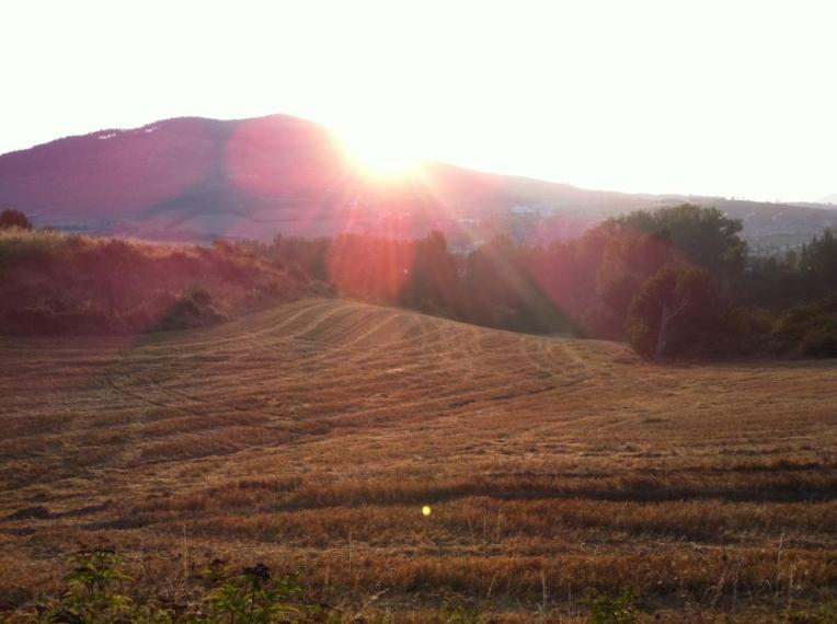 Sunrise over Monte Nerval