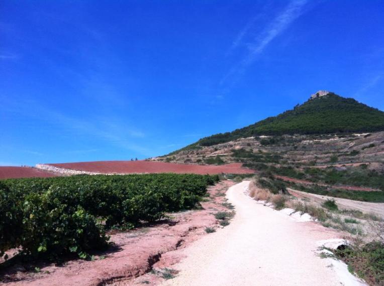 Trail to Villamayor de Monjardin