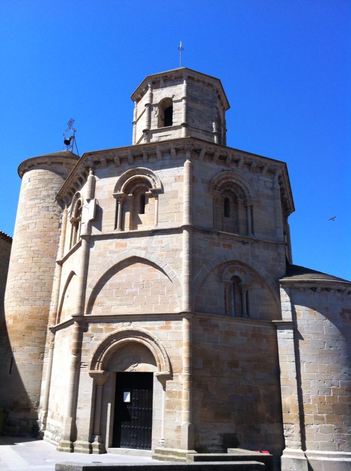 Santo Sepulchro, 12th century, Torres del Rio