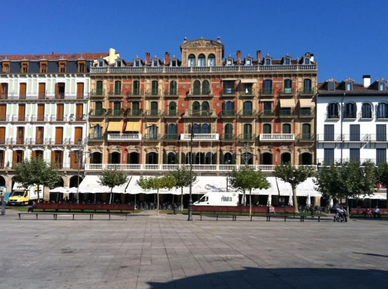 Café Iruna in Plaza de Castillo, Pamplona
