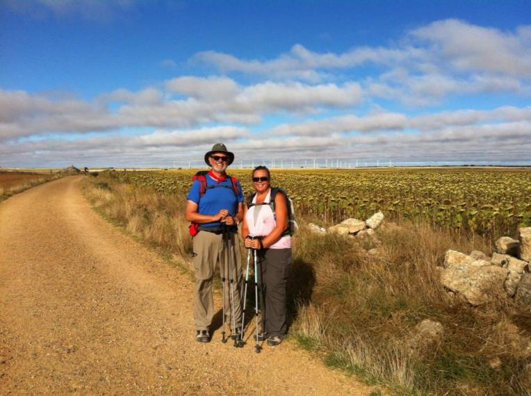Alan and Tracy on the Meseta