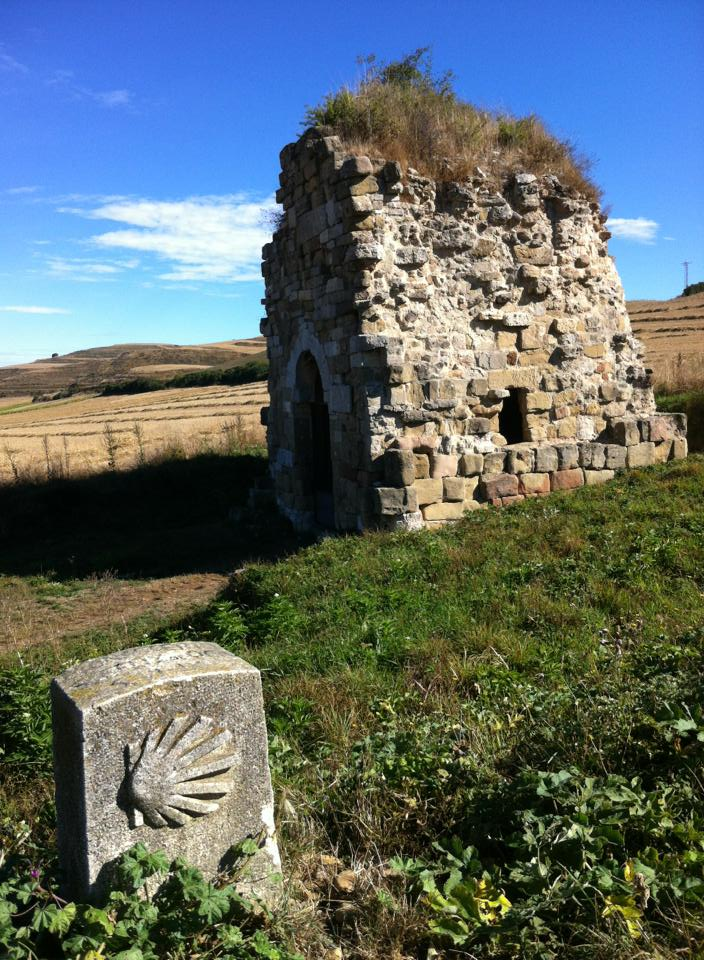 This distinctive fof the 9th century, Monasterio de San Felix de Oca near Epinosa del Camino