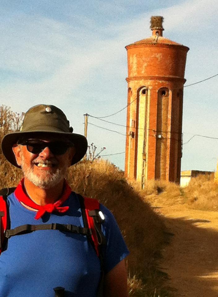 Grain silo in Boadilla del Camino