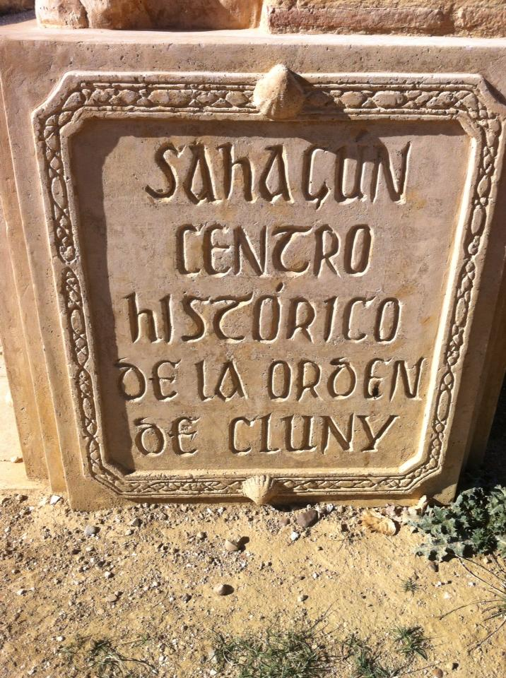 Historic halfway point of the Camino near Ermita Virgen del Puente, 12th century