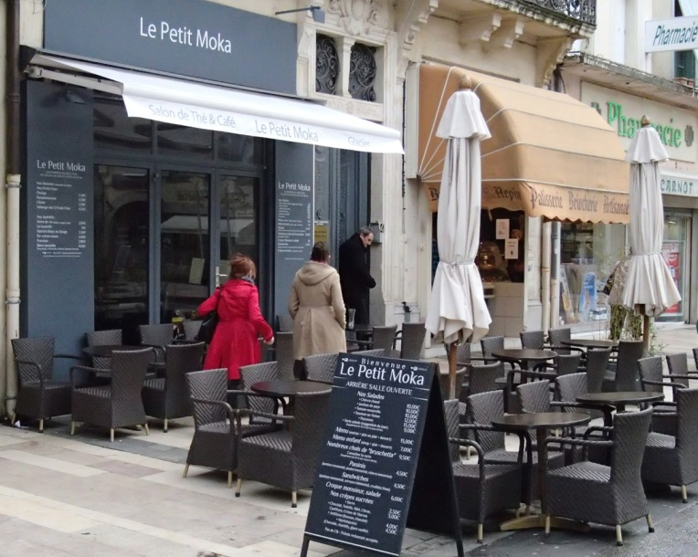 La Petit Moka Café, Place Carnot, Carcassonne