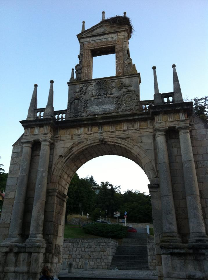 Puerta del Rey,12th century, or King's Gate, Burgos