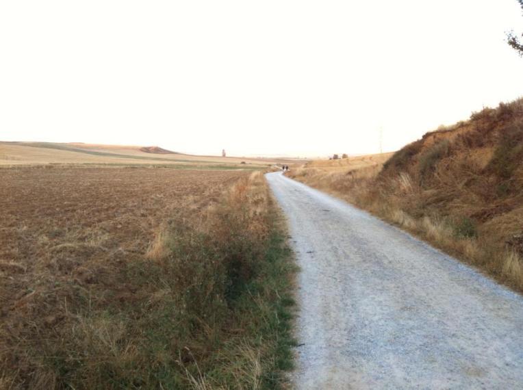 Trail outside Moratinos