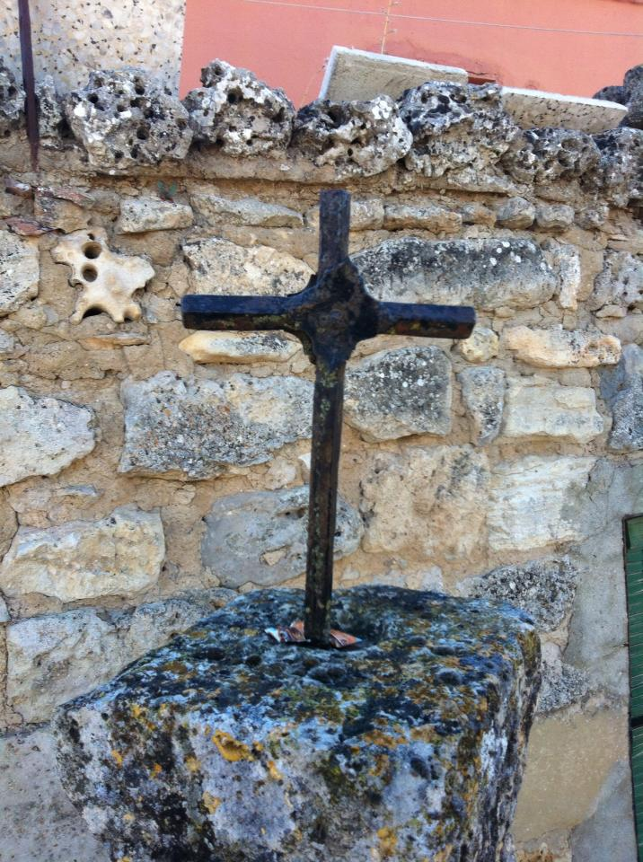 Iron crucifix, Castrojeriz