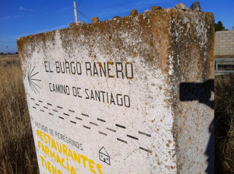 Marker for El Burgo Ranero