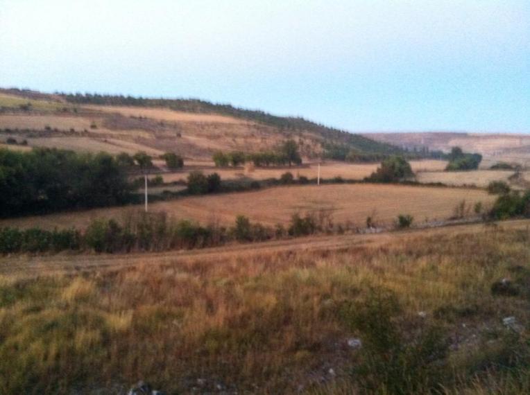 Landscape near Castrojeriz