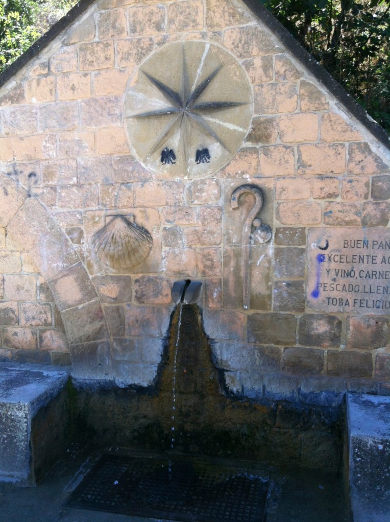 Pilgrim fountain