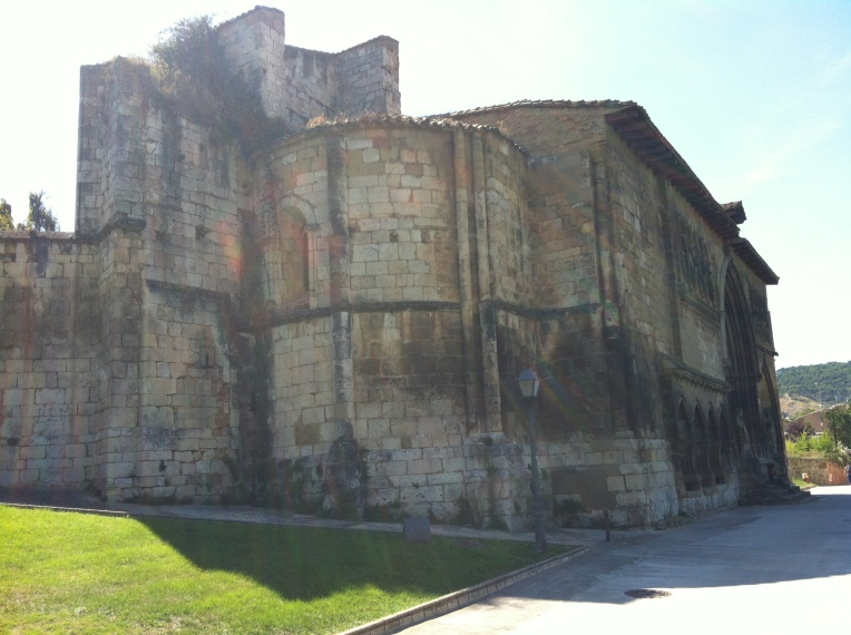 Ermita de San Miguel arcangel, ruins of an 11th century pilgrim hospital