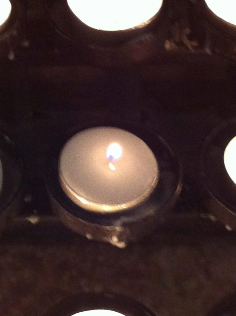 Lighting a candle for Kiara