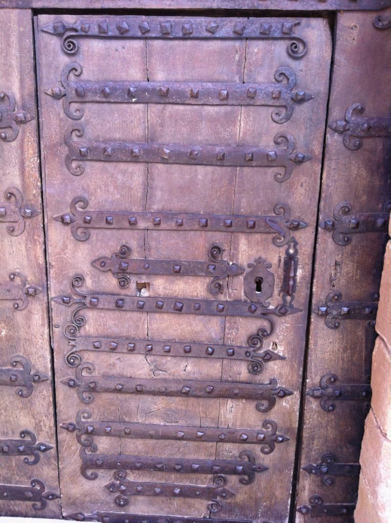 San Andres Church, 12 th century, front door
